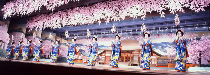 Spring Geiko (Geisha) Dance Performance (fonte: Kyoto Travel Guide)