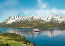 Navegando pela costa norueguesa