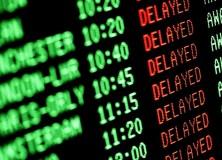 voos atrasados