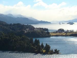 Vista panorâmica do Hotel Llao Llao
