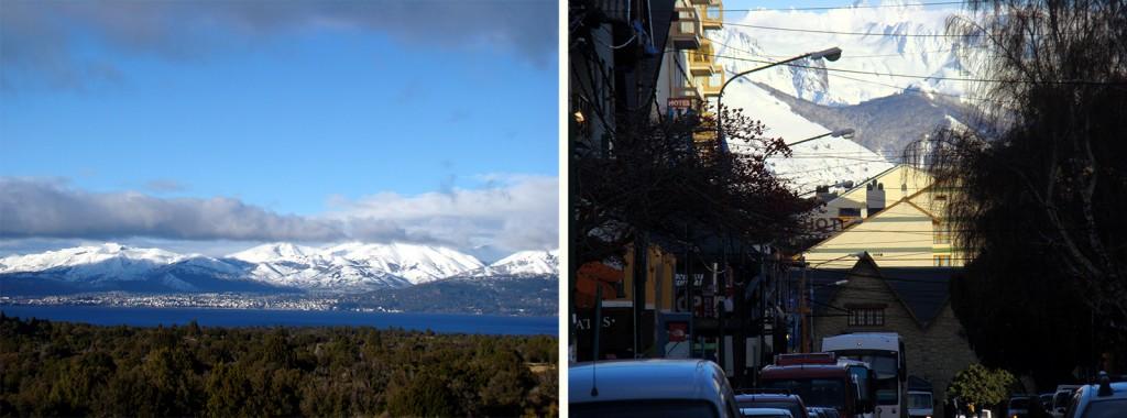 Vista panorâmica de Bariloche